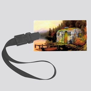 Airstream camping Large Luggage Tag