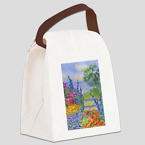 Celia's Gardem Canvas Lunch Bag