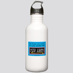My Tastes Are Simple-Sir. W.Churchill Water Bottle