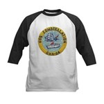 USS CONSTELLATION Kids Baseball Jersey