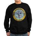 USS CONSTELLATION Sweatshirt (dark)