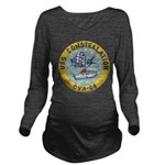 USS CONSTELLATION Long Sleeve Maternity T-Shirt
