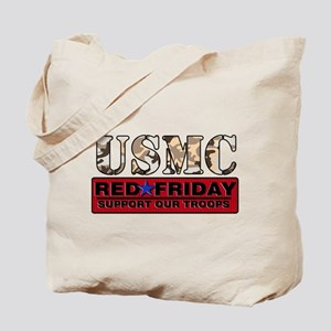 Red Friday/USMC Tote Bag