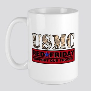 Red Friday/USMC Large Mug