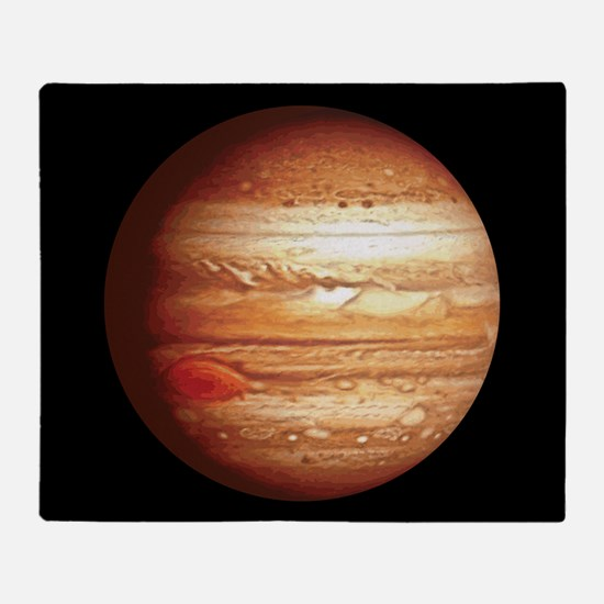 Planet Jupiter Throw Blanket