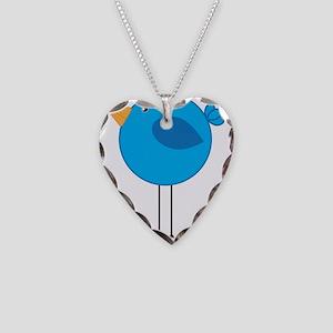 Blue Bird Cartoon Necklace
