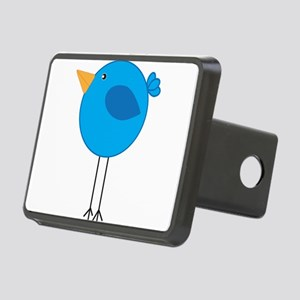 Blue Bird Cartoon Hitch Cover