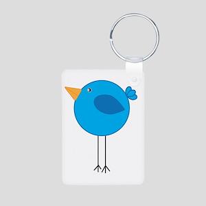 Blue Bird Cartoon Keychains
