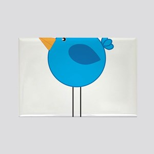 Blue Bird Cartoon Magnets