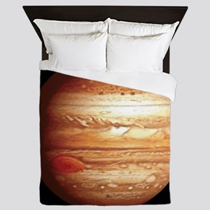 Planet Jupiter Queen Duvet