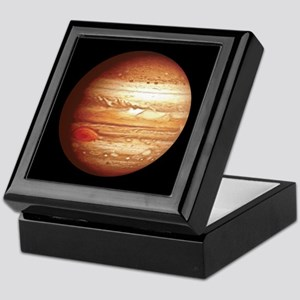 Planet Jupiter Keepsake Box