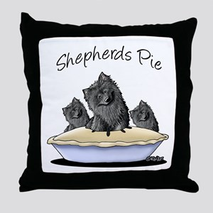 Shepherds Pie Throw Pillow