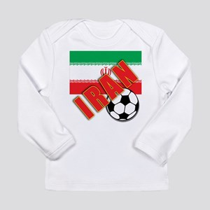 IRAN World Soccer Long Sleeve Infant T-Shirt