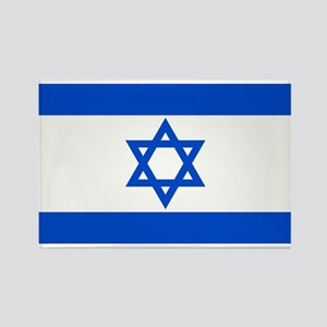Israel State Flag Rectangle Magnet