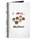 I Love Muffins Journal