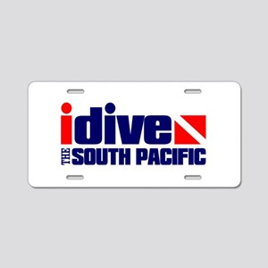 idive (South Pacific) Aluminum License Plate