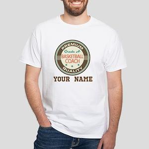Basketball Coach Personalized Gift T-Shirt