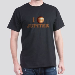 I Love Jupiter Dark T-Shirt