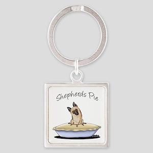 Shepherds Pie Square Keychain