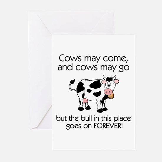 Lots of Bull Greeting Cards (Pk of 10)