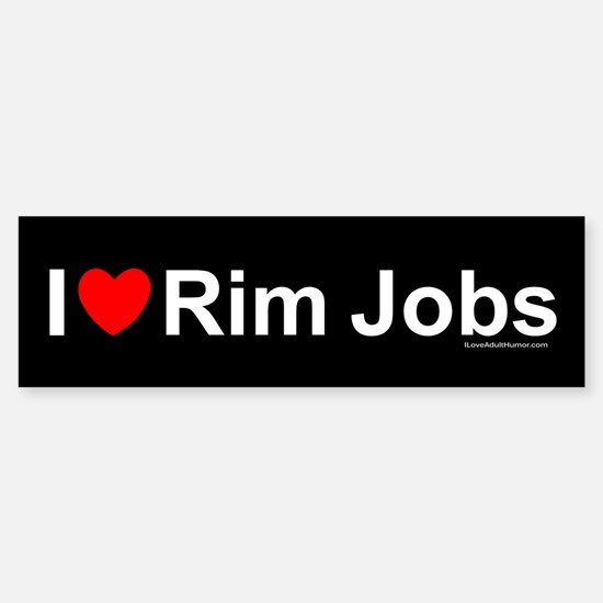 Rim Jobs Sticker (Bumper)