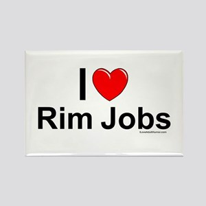 Rim Jobs Rectangle Magnet