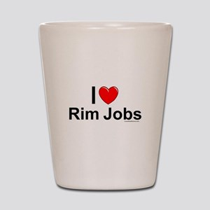 Rim Jobs Shot Glass
