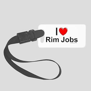 Rim Jobs Small Luggage Tag