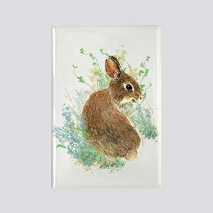 Cute Watercolor Bunny Rabbit Pet Animal Magnets