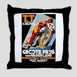 1931 Netherlands Grand Prix Racing Poster Throw Pi