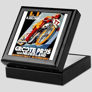 1931 Netherlands Grand Prix Racing Poster Keepsake