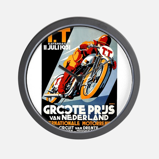 1931 Netherlands Grand Prix Racing Poster Wall Clo