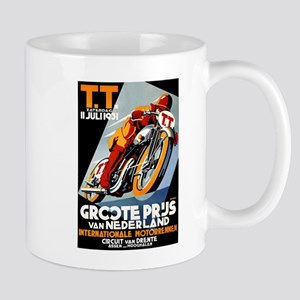 1931 Netherlands Grand Prix Racing Poster Mugs