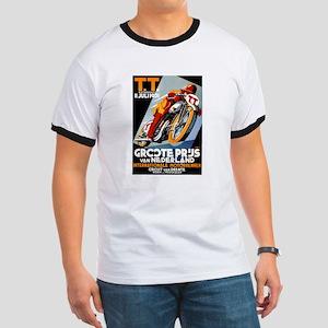 1931 Netherlands Grand Prix Racing Poster T-Shirt