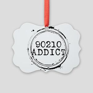 90210 Addict Picture Ornament