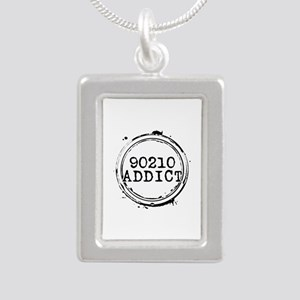 90210 Addict Silver Portrait Necklace