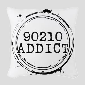 90210 Addict Woven Throw Pillow