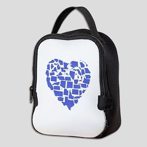 Massachusetts Neoprene Lunch Bag
