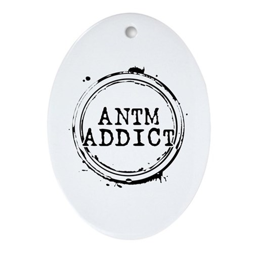 ANTM Addict Oval Ornament