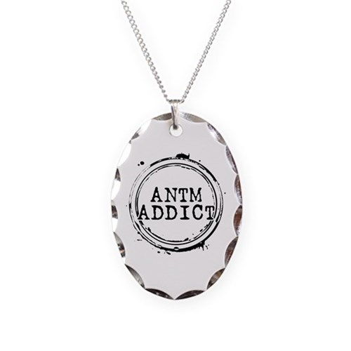 ANTM Addict Necklace Oval Charm