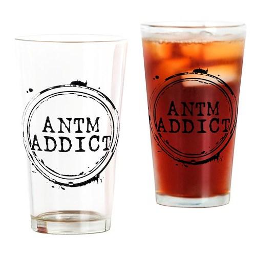 ANTM Addict Drinking Glass