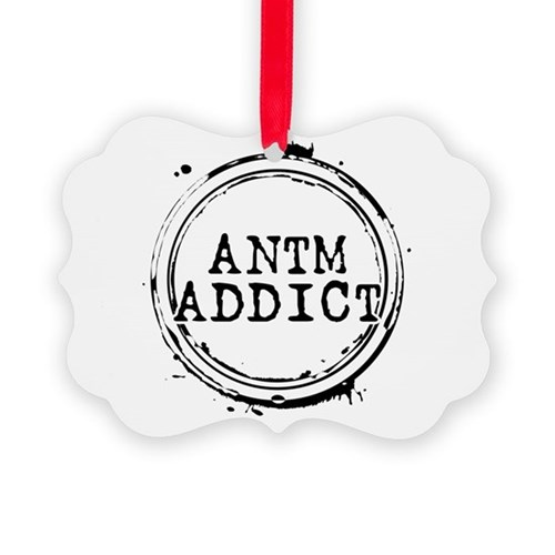 ANTM Addict Picture Ornament