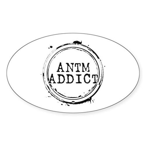 ANTM Addict Oval Sticker