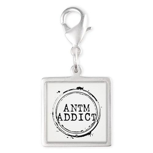 ANTM Addict Silver Square Charm