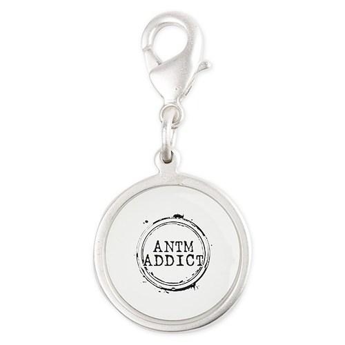 ANTM Addict Silver Round Charm