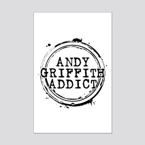 Andy Griffith Addict Mini Poster Print