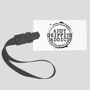 Andy Griffith Addict Large Luggage Tag