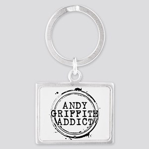 Andy Griffith Addict Landscape Keychain