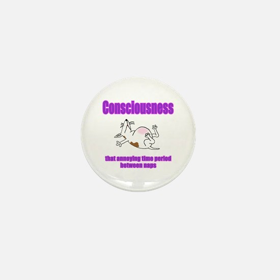 Consciousness Mini Button