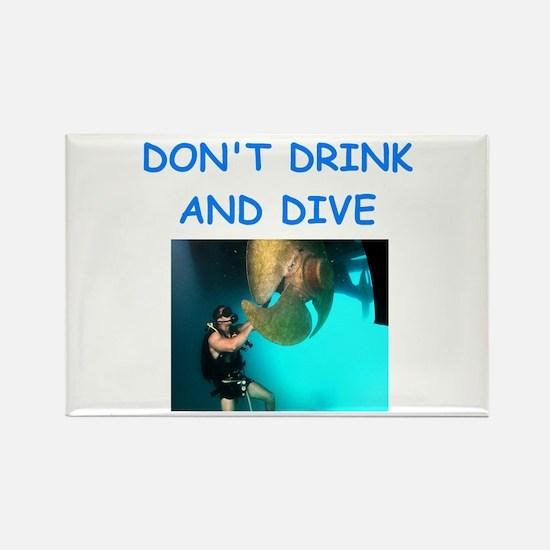 scuba diving Magnets